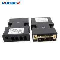 Wholesale EDID SM 4core LC Dvi To Fiber Optic Converter 1000 Meters Distance from china suppliers