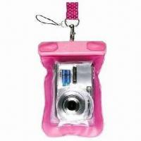 Wholesale Waterproof Mobile Phone Pouches, and also for Camera, Made of PVC from china suppliers