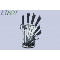Wholesale ETECO Kitchen Knife 3.5'' 5'' 7'' 8'' Chef 7CR17 440C Stainless Steel Non Stick Blade from china suppliers