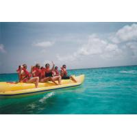 Wholesale CE Authenticate PVC banana boat 5 person from china suppliers