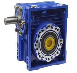 China Lightweight NMRV Speed Reduction Gearbox 20 Crcq Steel Worm Shaft Speed Reduction Box on sale