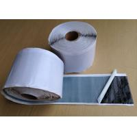 Wholesale Waterproof Black Butyl Rubber Tape , Double Sided Adhesive Tape 1.60 - 1.70 g / cm3 from china suppliers