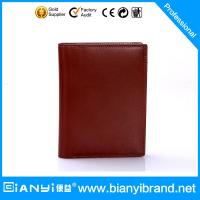 Wholesale 2015 Factory direct bulk selling man leather wallet from china suppliers