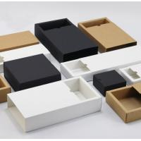 Wholesale Custom Printed Clothing Paper Boxes , Drawer Type Paper Shopping Box from china suppliers