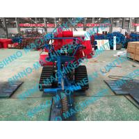 Quality 4LZ-0.7 mini paddy combine harvester with crawler, rice wheat 14HP for sale