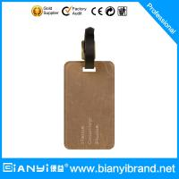 Wholesale Custom PU or Leather Luggage Tag Wholesale 2015 from china suppliers