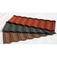 Wholesale Stone Coated Steel Roof Tile Type and Al-Zn Alloy Coated metal Sheet Material Roof Tile from china suppliers