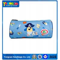 Quality OEM Yes Novelty and Office&School Pencil Schools&Offices Use POLYESTER blue pencil case for kids for sale