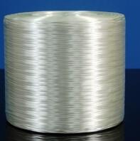 China PP PBT White E Glass Direct Roving 130mm Stiffness Thermoplastic Yarn on sale