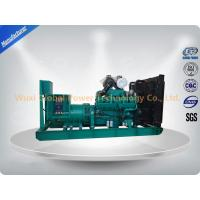 China Global Power 12-Cylinder in V 600 KW Cummins Generator Set Low Fuel Consumption on sale