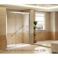 Tempered  glass door , toughened glass door with ISO9001, CE, Australia  AS/NZS 2208 Certificate