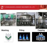 China Three in one Washing+Filling+Capping Machines For Drinking water /Distill water /Mineral water on sale