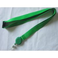 Buy cheap Business Card Holder Polyester Custom Pull Reel Lanyard from Wholesalers
