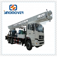 Wholesale 300m 130m3/Min Truck Mounted Water Well Drilling Rig from china suppliers