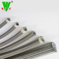 Buy cheap 1/2 inch available braided stainless steel high pressure high temperature flexible hose from wholesalers