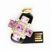 Wholesale Christmas Gift Jewelry USB Flash Disk (UB -J6003) from china suppliers