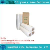 Wholesale SGS certfied Hand stretchwrap film with lowest price maade in china from china suppliers