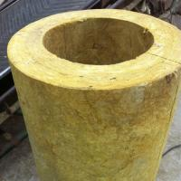 China Heat Insulation Rock Wool Pipe on sale