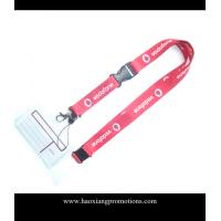 Wholesale Cheap Custom pink Lanyard print your logo No Minimum Order With Any Hook from china suppliers