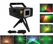 Wholesale 20 degrees 3 colors MINI Animation mini stage laser lighting with auto and sound mode D010 from china suppliers