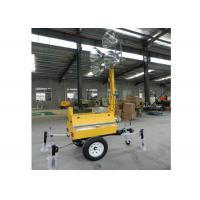 Wholesale 9M Manual High Mast Mobile Light Tower With KOFO Ricardo / FAWED / Laidong from china suppliers
