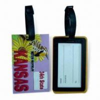 Wholesale Soft PVC Luggage Tags, Suitable for Sales Promotional from china suppliers