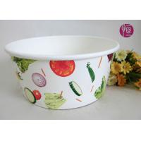 Wholesale 43oz Food Grade PE Coated Low Leakage DisposablePaper Bowls / Enamel Paper from china suppliers