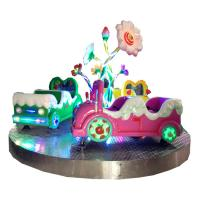 12 players cloud merry go round carousel for amusement theme park kids fun game