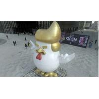 Wholesale outdoor garden  decoration dolnal trump statue   by fiferglass material customize size from china suppliers