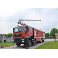 Wholesale 8x4 Driving Fire Engine Vehicle , Large Capacity Tower Ladder Fire Truck from china suppliers