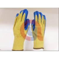 Flame Retarding Aramid Cut Protection Gloves For Metal Sheet And Glass for sale
