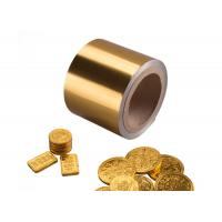Buy cheap 8011 46-50mic gold aluminium foil chocolate coins from wholesalers