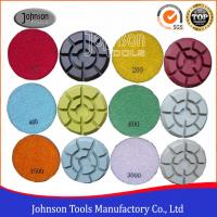 Wholesale 100mm Diamond Polishing Pads for Concrete , Polishing the Concrete Countertop and Floor from china suppliers