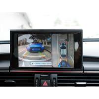 Audi 360 AVM car Reverse Camera system Moving parking guide lines