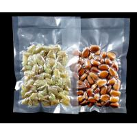 China Vacuumized plastic packaging bag for food / vacuum seal food storage bag on sale