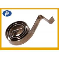 Furniture Torsion Spiral Spring / Small Torsion Springs With Free Length