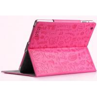 Wholesale Cute Magic Lopez Cartoon Smart Leather Ipad Protective Case In Pink Black White from china suppliers