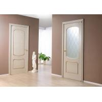 Wholesale MDF Painting Surface Single Swing Door , Customized Size Interior Wood Doors from china suppliers