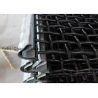 Wholesale Gravel Screen Mesh Anti Rust Paint , Heavy Duty Wire Mesh Screen For Vibrating Screen from china suppliers