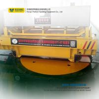Wholesale transfer cart with turnplate on rail achieves 360 degree rotation from china suppliers