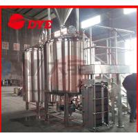 Wholesale 10BBL Custom Commercial Beer Brewing Equipment , Draught Beer Machine from china suppliers