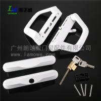 China High Quality uPVC US America Sliding Patio Door Handle with mortise lock on sale