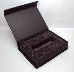 EVA Inlay Cardboard Box , Custom Printed Cardboard Box Packaging For Pen