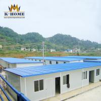 China Modular Designed Portable Accommodation Worker House  Flexible T Type on sale