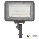 Wholesale 30 Watt Slim LED Flood Light 3500 Lumens 4000k UL DLC AC 120-277V Long Working Life from china suppliers