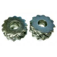 China Concrete Planing Tungsten Carbide Tips TCT Scarfying Teeth Blade Zinc Plated on sale