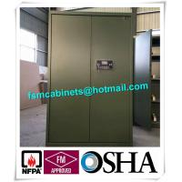 Wholesale Gun Safety Storage Hazardous Storage Cabinets , Weapon Safety Storage Cabinets For Gun from china suppliers