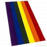 Wholesale 100% Cotton Gay Flag Beach Towel LGBT Pride Parade Rainbow Towel Colors Resistance from china suppliers