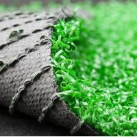 China NEW Style 25mm High Dtex 16800 Gauge 3/8 Anti-UV Safe and Environmentally friendly non-infill Soccer Grass / Turf on sale