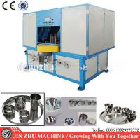 China Customized Cookware Polishing Machine , 4kw Automatic Buffing Machine on sale